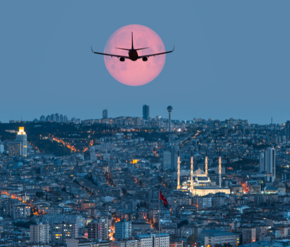 Авиадоставка из Турции