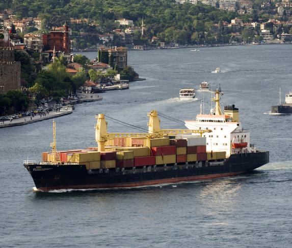 Морские перевозки грузов из Турции
